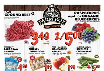 Farm Boy (Cornwall, Kingston, London, Oakville, Ottawa, Pickering, Toronto and Whitby) Flyer October 31 to November 6