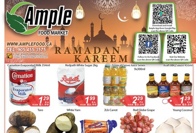 Ample Food Market Flyer May 1 to 7
