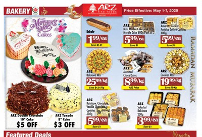 Arz Fine Foods Flyer May 1 to 7