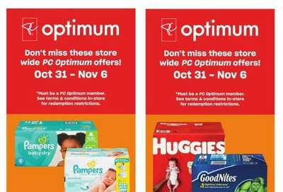 Loblaws City Market (West) Flyer October 31 to November 6