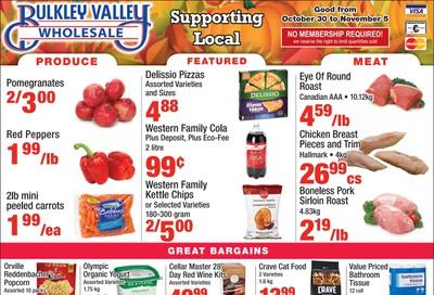 Bulkley Valley Wholesale Flyer October 30 to November 5