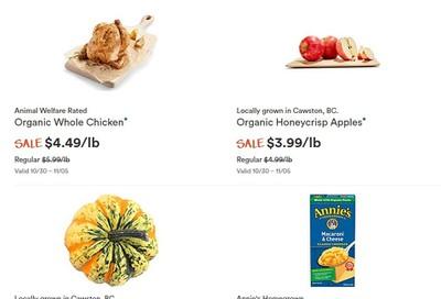 Whole Foods Market (West) Flyer October 30 to November 5