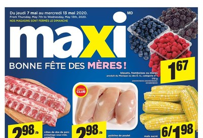 Maxi Flyer May 7 to 13