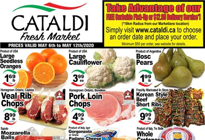 Cataldi Fresh Market Flyer May 6 to 12