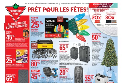 Canadian Tire (QC) Flyer October 31 to November 6