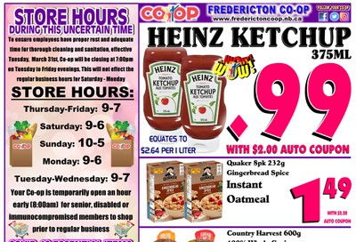 Fredericton Co-op Flyer May 7 to 13