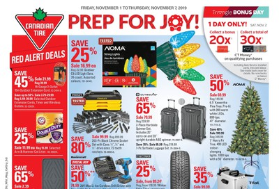 Canadian Tire (West) Flyer November 1 to 7