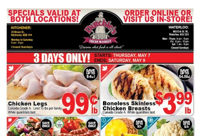 Dutchies Fresh Market Flyer May 7 to 9