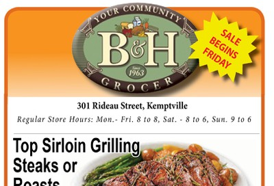 B&H Your Community Grocer Flyer November 1 to 7