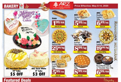 Arz Fine Foods Flyer May 8 to 14