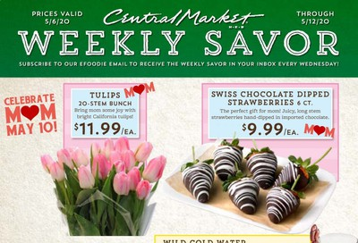Central Market Weekly Ad & Flyer May 6 to 12