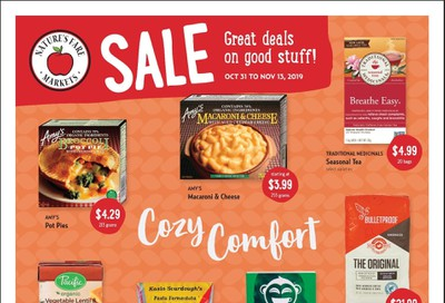 Nature's Fare Markets Flyer October 31 to November 13