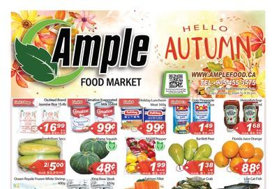 Ample Food Market Flyer November 1 to 7