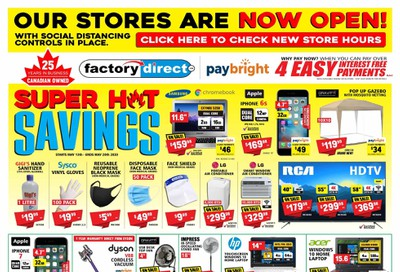 Factory Direct Flyer May 13 to 20
