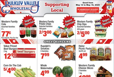 Bulkley Valley Wholesale Flyer May 13 to 19