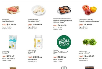 Whole Foods Market (West) Flyer May 13 to 19