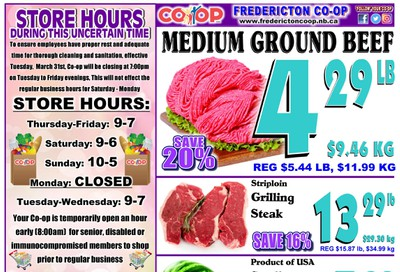 Fredericton Co-op Flyer May 14 to 20