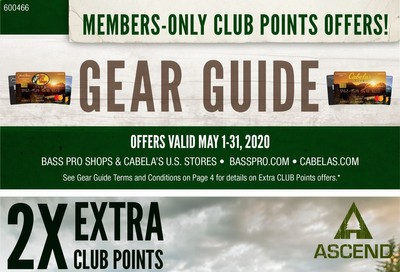 Bass Pro Shops Weekly Ad & Flyer May 1 to 31