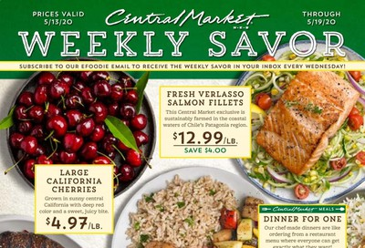Central Market Weekly Ad & Flyer May 13 to 19