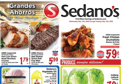Sedano's Weekly Ad & Flyer May 13 to 19