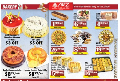 Arz Fine Foods Flyer May 15 to 21