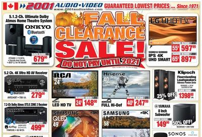 2001 Audio Video Flyer November 1 to 7