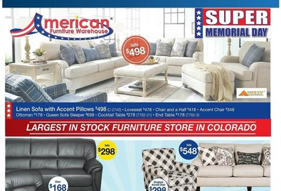 American Furniture Warehouse Weekly Ad & Flyer May 17 to 23