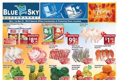 Blue Sky Supermarket (Pickering) Flyer November 1 to 7