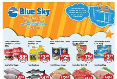 Blue Sky Supermarket (North York) Flyer November 1 to 7