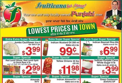 Fruiticana (Edmonton) Flyer November 1 to 6