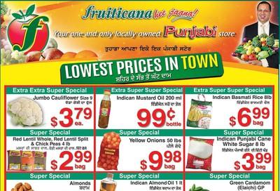 Fruiticana (Calgary) Flyer November 1 to 6