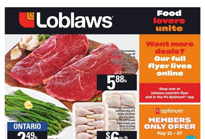 Loblaws (ON) Flyer May 21 to 27
