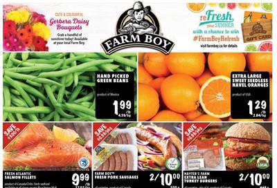Farm Boy Flyer May 21 to 27