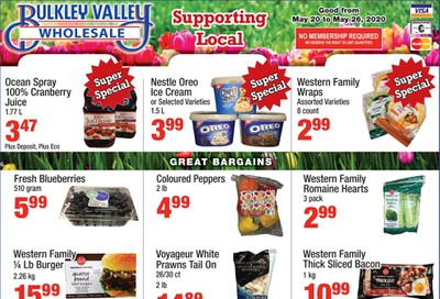 Bulkley Valley Wholesale Flyer May 20 to 26