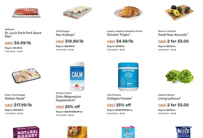 Whole Foods Market (West) Flyer May 20 to 26