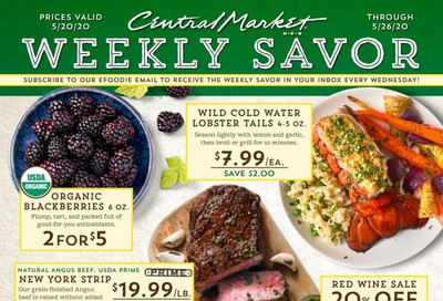 Central Market Weekly Ad & Flyer May 20 to 26
