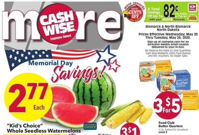 Cash Wise Weekly Ad & Flyer May 20 to 26