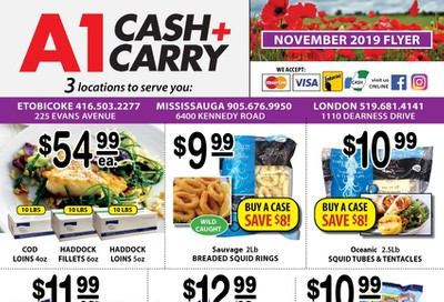 A-1 Cash and Carry Flyer November 1 to 30