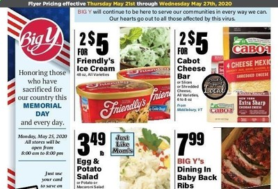 Big Y Weekly Ad & Flyer May 21 to 27