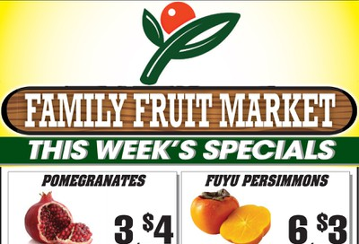 Family Fruit Market Flyer November 2 to 4