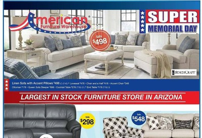 American Furniture Warehouse Weekly Ad & Flyer May 24 to 30