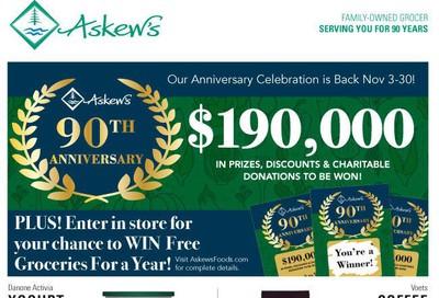 Askews Foods Flyer November 3 to 9