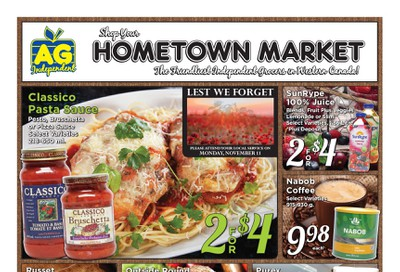 Falkland Store Ltd. Flyer November 4 to 9