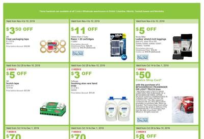 Costco (BC, AB, SK and MB) Weekly Savings November 4 to 10