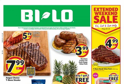 BI-LO Weekly Ad & Flyer May 27 to June 2