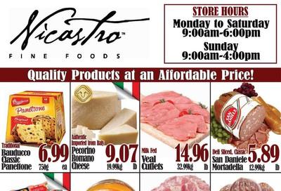 Nicastro Fine Foods Flyer November 4 to 17