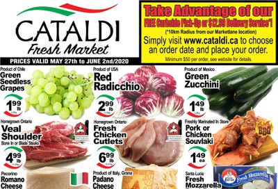 Cataldi Fresh Market Flyer May 27 to June 2