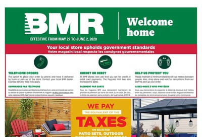 BMR Flyer May 27 to June 2