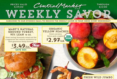 Central Market Weekly Ad & Flyer May 27 to June 2