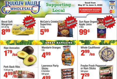 Bulkley Valley Wholesale Flyer May 27 to June 2